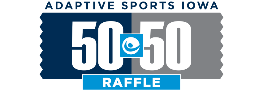 Adaptive Sports Iowa 50-50 Raffle